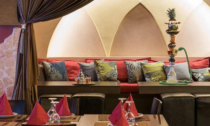 """28€ για ένα πλούσιο δείπνο λιβανέζικης κουζίνας για 2 άτομα στο καινούριο και πολυτελές """"Sahara Lebanese Restaurant"""""""