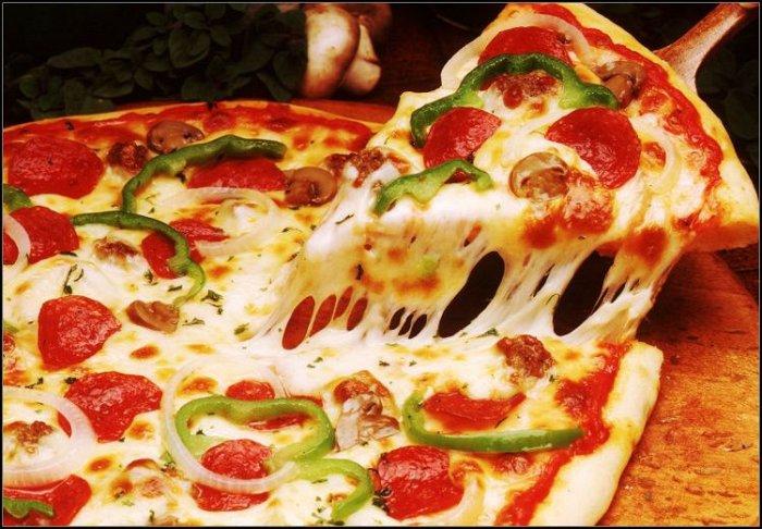 5€ για ελεύθερη επιλογή από τον κατάλογο φαγητού, στην πιτσαρία
