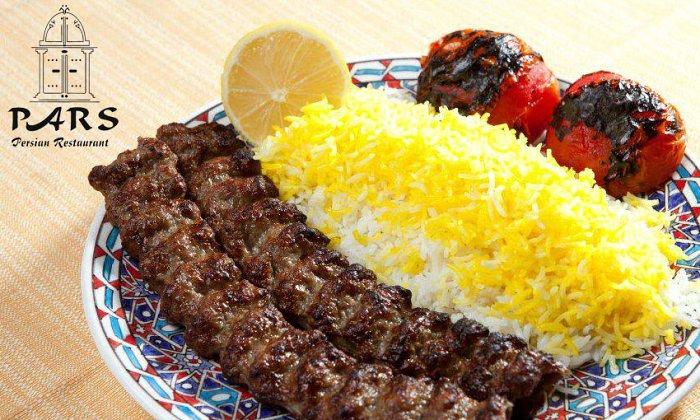 """25€ από 45€ για ένα γεύμα 2 ατόμων στο φημισμένο Περσικό εστιατόριο """"Pars Persian Restaurant"""" στο Χαλάνδρι"""